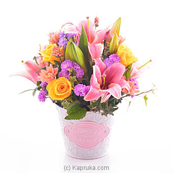 The Happy Day Blooms Online at Kapruka | Product# flowers00T975