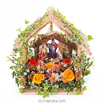 Beauty Of Christmas In Bethlehem Online at Kapruka | Product# flowers00T1043