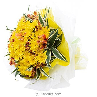 Blooming Paradise Flower Bouquet Online at Kapruka | Product# flowers00T1070