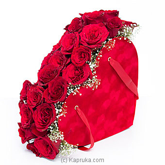 Heart Filled With Roses Online at Kapruka | Product# flowers00T1098