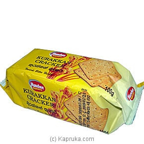 Munchee Kurakkan Cracker - 100g Online at Kapruka | Product# grocery00149