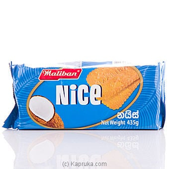 Maliban Nice Biscuits - 435g Online at Kapruka | Product# grocery00157