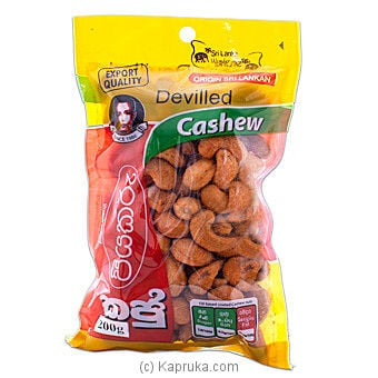 Deviled Cashew Nuts - 200g Online at Kapruka | Product# grocery00178