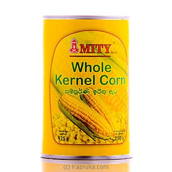 Mity Whole Kernal Corn Tin 425g - Online at Kapruka | Product# grocery00221