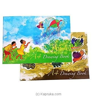 Two White Drawing Books Online at Kapruka | Product# childrenP0109