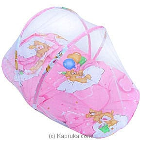 Mosquito Net Bed - Pink Online at Kapruka | Product# babypack00139