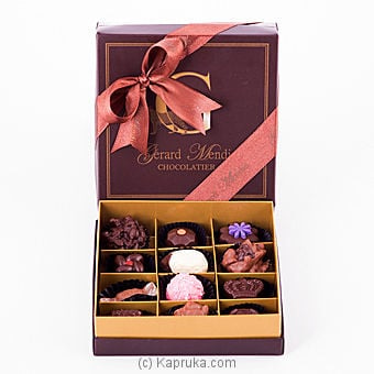 12 Piece Chocolate Box(gmc) Online at Kapruka | Product# chocolates00224