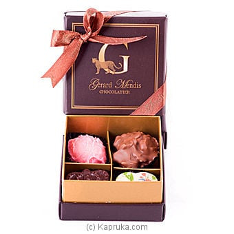 4 Piece Chocolate Box (paperboard)(gmc) Online at Kapruka | Product# chocolates00218