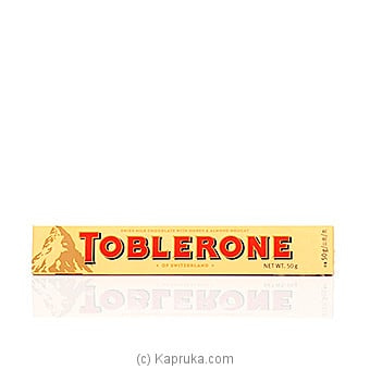 Toblerone Milk Chocolate -50g Online at Kapruka | Product# chocolates00298