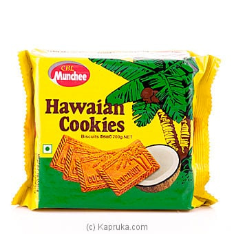Munchee Hawaiian Cookies 200g Online at Kapruka | Product# grocery00440