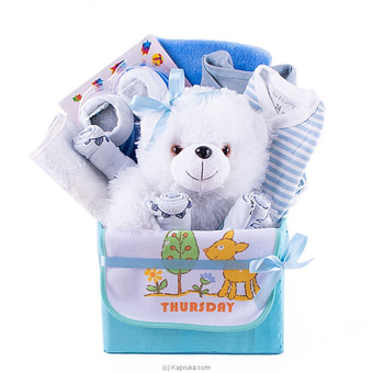 Adore Baby Blue Gift Pack- Large Online at Kapruka | Product# babypack00180