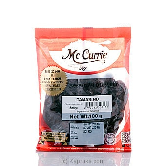 Mc Currie Tamarind 100g Online at Kapruka | Product# grocery00480