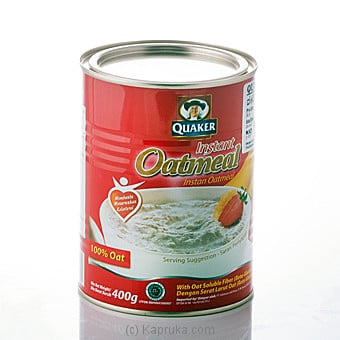 Quaker Oat Meal Instant Tin 400g Online at Kapruka | Product# grocery00515