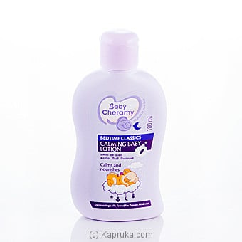 Baby Cheramy Bedtime Classics Calming Baby Lotion 100ml Online at Kapruka | Product# grocery00563