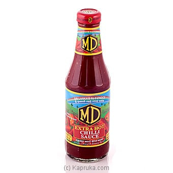 MD Extra Hot Chillie Sauce 400g Online at Kapruka | Product# grocery00542