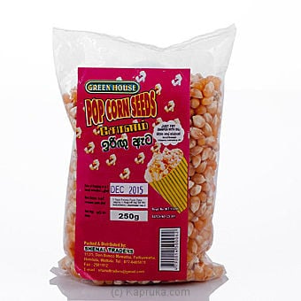 Green House Pop Corn Seed 250g Online at Kapruka | Product# grocery00634