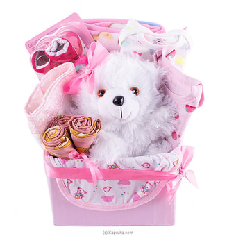 Adore Baby Girl Gift Pack- Large Online at Kapruka | Product# babypack00188