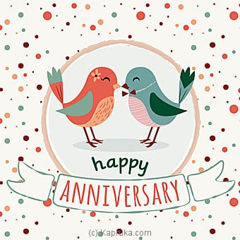 Anniversary Greeting Card Online at Kapruka | Product# greeting00Z1238