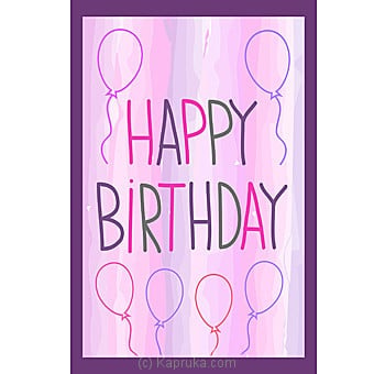 Birthday Greeting Card Online at Kapruka | Product# greeting00Z1287