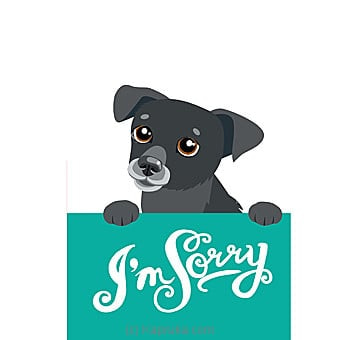 I Am Sorry Card Online at Kapruka | Product# greeting00Z1296