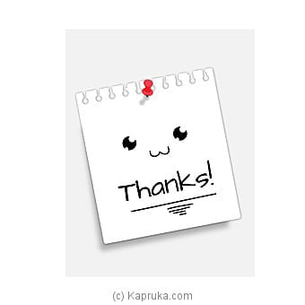 Thank You Card Online at Kapruka | Product# greeting00Z1318