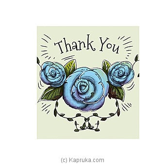 Thank You Card Online at Kapruka | Product# greeting00Z1315