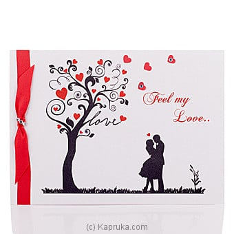 Feel My Love Pop Up Greeting Card Online at Kapruka | Product# greeting00Z1356