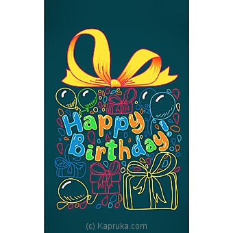 Birthday Greeting Card Online at Kapruka | Product# greeting00Z1366