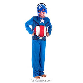 Captain America Kids Costume -Small Online at Kapruka | Product# clothing0332_TC1