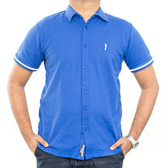 Hybrid Golf T-shirts  Blue - Medium Online at Kapruka | Product# clothing0352_TC1