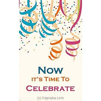 Congratulations Greeting Card Online at Kapruka | Product# greeting00Z1515
