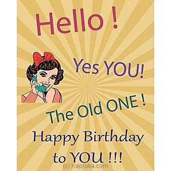 Birthday Greeting Card Online at Kapruka | Product# greeting00Z1545