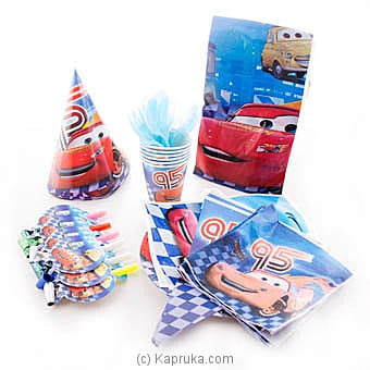 Lightning Mcqueen Kids Party Pack Online at Kapruka | Product# partyP00120