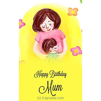 Birthday Greeting Card Online at Kapruka | Product# greeting00Z1577