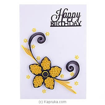Handmade Birthday Greeting Card Online at Kapruka | Product# greeting00Z1608