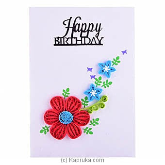 Handmade Birthday Greeting Card Online at Kapruka | Product# greeting00Z1607