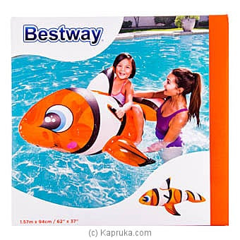 Bestway Clown Fish Ride On Inflatable Pool Float Online at Kapruka | Product# kidstoy0Z770