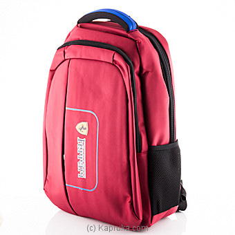 Lap Top Backpack Red Online at Kapruka | Product# childrenP0364