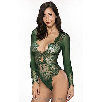 Sexy Teddy Lingerie-emerald Green Small Online at Kapruka | Product# clothing0522_TC1