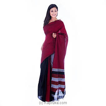 Handloom Cotton Saree Online at Kapruka | Product# clothing0541