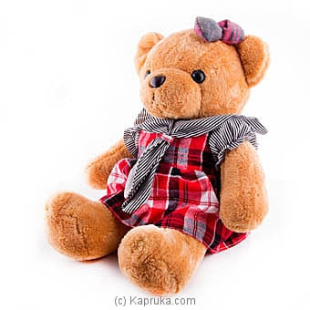 Peaches Teddy Online at Kapruka | Product# softtoy00530