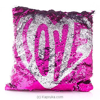 Touch Of Love Glittery Pillow Online at Kapruka | Product# softtoy00551
