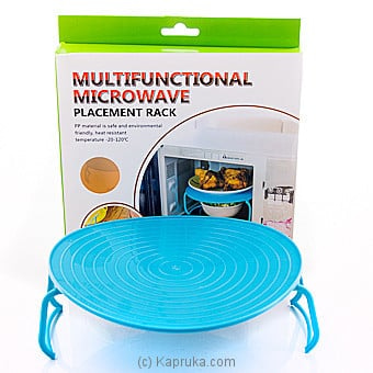 Multifunctional Microwave Placement Rack Online at Kapruka | Product# household00348