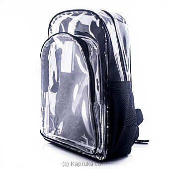 Clear Backpack Online at Kapruka | Product# childrenP0392