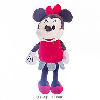 Fancy Minnie Mouse - Red Online at Kapruka | Product# softtoy00574_TC1