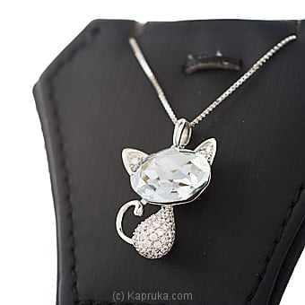 Swarovski Crystal Pendant With Necklace Online at Kapruka | Product# jewllery00SK665