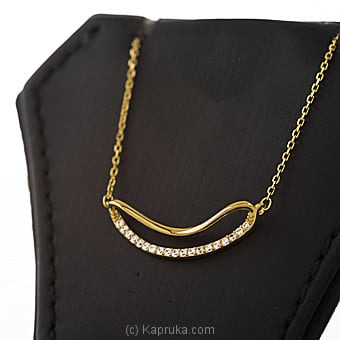 Crystal Stone Pendant With Necklace Online at Kapruka | Product# jewllery00SK670