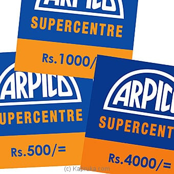 Arpico Rs 500 Voucher Online at Kapruka | Product# giftV00Z158_TC1