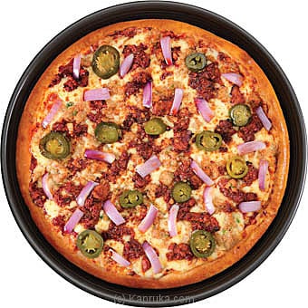 Double Chicken & Cheese Fiesta Sausage Crust Large Online at Kapruka | Product# pizzahut00183