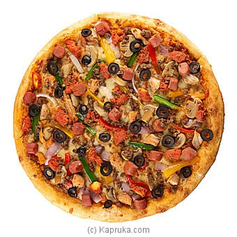 Mighty Meaty Pizza Regular Online at Kapruka | Product# DOMINOS00151_TC1